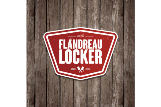 Flandreau Locker: Logo
